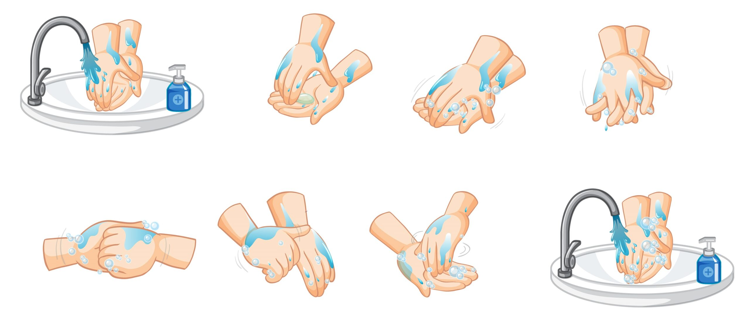 A simple hand washing and hygiene guide
